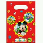 Mickey Mouse Clubhouse Party - 6 Loot Bags - Free Postage in UK