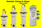 Pentair Pool Filter Cartridge Clean Clear 75 100 150 200 sqft swim NEW Complete
