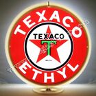 TEXACO ETHYL GASOLINE GAS & OIL PUMP GLOBE FREE S&H