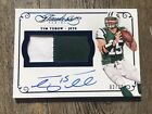Tim Tebow 2015 Panini Flawless Jumbo Auto Patch 2 Color #'d 2 20 Blue NY Jets