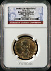 2016 P 1 Ronald Reagan Presidential Dollar NGC MS67 Early Releases
