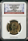 2016 D 1 Ronald Reagan Presidential Dollar NGC MS67 Early Releases