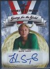 HOPE SOLO 2013 Leaf Sports Heroes Autograph Team USA Soccer