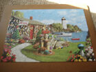 Masterpieces Memory Lane 300 EZ Grip Big Piece Puzzle LOBSTER BAY Alan Giana