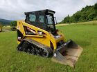 2003 Caterpillar 247 Compact Track Skid Steer Loader Hydraulic Machinery w Cab