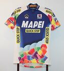 SPORTFUL TEAM MAPEI QUICK STEP CYCLING JERSEY SIZE LARGE