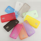 Ultra Thin Soft PC Matte Back Case Cover Skin For Samsung Galaxy S5 Mini G800