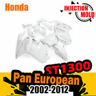 Motorcycle Frame Kit Fairing Fit For Honda ST1300 Pan European 02-08 UNPAINT ABS