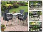 Patio Table Set Vintage Chairs Dining Outdoor Garden Table Chairs Yard Deck Pool