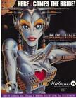 THE MACHINE BRIDE OF PINBOT By WILLIAMS NOS ORIGINAL PINBALL MACHINE FLYER 1991