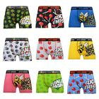 Mens Designer Stretch Lycra Rude Novelty Explicit Crosshatch Boxer Shorts Trunks