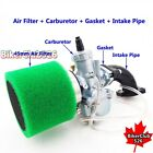 26mm Molkt Carburetor Air Filter Intake Pipe Set For Lifan YX 125cc 140cc 150cc