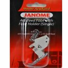 Janome Sewing Machine AcuFeed Foot with Holder for 9mm Models New