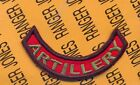 US Army 24th Infantry Division Artillery arc tab patch