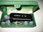 Vintage 1948  Singer Buttonholer in Case, With Attachments and Directions