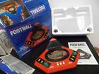 Vintage 1980's VTECH Electronic Talking Football Handheld Game IN BOX WORKS