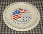 Pfaltzgraff Yorktowne York, PA Bicentennial City Dinner Plate First Capital VTUS
