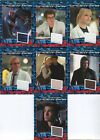 The Amazing Spider-Man Movie Costume Card Set CC1 thru CC7 Spider Man Spiderman