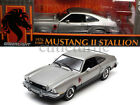 Greenlight 1976 Ford Mustang II Stallion 118 Diecast Silver 12890