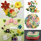 260 Stripes Quilling Paper 3 5 7 10mm Width Mixed Color Origami DIY Craft Paper