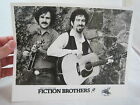 Vintage Country Bluegrass Music Promo Photo Flying Fish Records Fiction Brothers