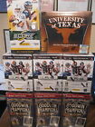 Factory Sealed 8 Box Lot - 2012 Leaf R&S 2011 UD Texas 2010 Score Football