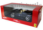 Hot Wheels Ferrari 458 Spider Italia 118 Diecast Dark Blue X5529