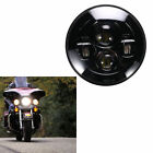 5.75'' Motorcycle Black Projector Daymaker LED Bulb Light Headlight For Harley
