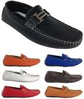 Men Brixton New Leather Driving Casual Shoes Moccasins Slip On Loafers Tobago 4