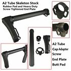 A2 Tube Skeleton Stock With Heavy Duty Screw Tightened End Plate and Rubber Pad