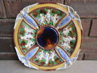 Rare Wedgwood Majolica Antique Angel  Plate Platter Charger c1865 ~ LARGE 30cm