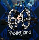 Disney Disneyland 60th Diamond Anniversary Jeweled Mickey Since 1955 Pin