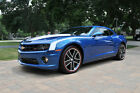 Chevrolet Camaro SS Coupe 2 Door 2010 aqua blue camaro procharged 6 speed 600 rwhp 8 800 miles 20 k invested