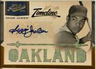 2011 Playoff Prime Cuts Reggie Jackson autographed baseball card game used 10