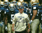 BRIAN KELLY SIGNED PHOTO 8X10 RP AUTOGRAPHED NOTRE DAME FOOTBALL !