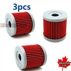 3x Oil Filter For Hyosung GV125 GV250 GT250R GT250 RX125SM RX125D 125 GF125