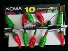 NOMA Hot Sauce Chili Pepper Party Lights Camper RV Patio Gazebo String Light New