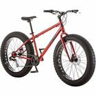 26  Mongoose Hitch Mens All Terrain Fat Tire Bike 7 Speed Mountain Bicycle New