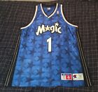 Vintage Authentic Tracy Mcgrady Orlando Magic Champion #1 NBA Jersey; Size 52