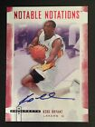 Kobe Bryant 2007-08 Hot Prospects Notable Notations 10 ruby red auto MINT NN-KB