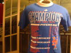 NEW YORK METS(2015 W.S.)TEAM T-SHIRTw/List of Players.MED.BY:DELTA PRO