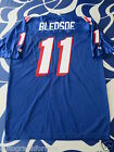 Drew Bledsoe 1995 New England Patriots authentic Champion stitched blue jersey