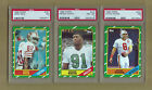 FB 1986 TOPPS FOOTBALL COMPLETE 396 CARD SET RICE WHITE & YOUNG PSA GRADED