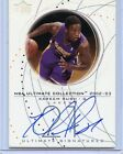 2002-03 UPPER DECK ULTIMATE COLLECTION KAREEM RUSH AUTOGRAPH