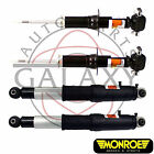 Monroe Replacement Front Struts & Rear Shocks Pair Kit Fits Cadillac Escalade E