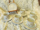 Royal Doulton Sandsprite LS1013 Five (5) Cups and Nine (9) Saucers  REDUCED