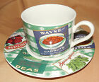 Vegetable Labels COUNTRY CUPBOARD Omnibus Fitz And Floyd CUP AND SAUCER
