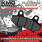 Front + Rear Organic NAO Brake Pads For 2001-2009 Daelim History 125