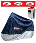 Generic Moped 100 2015 Bike Cover Blue White 8226631