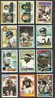Lot of 12 Walter Payton cards 1978, 1979, 1980 to 1987 Topps Chicago Bears NM+